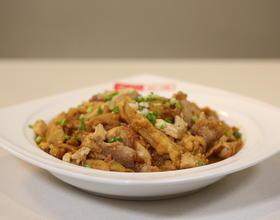 肉片鲜茄炖豆腐