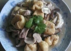 双菇干腐肉片
