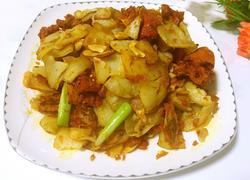 香酥辣椒炒土豆片