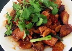 杏鲍菇炆鸡