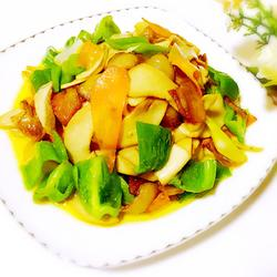 杏鲍菇炒五花肉的做法[图]
