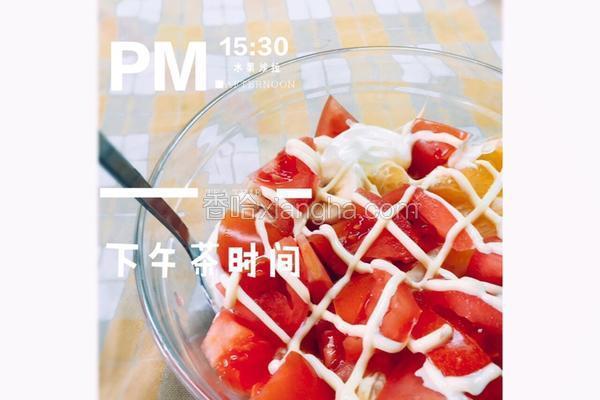 营养水果沙拉