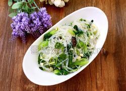 椒油粉丝油菜