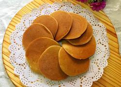 香蕉牛奶松饼
