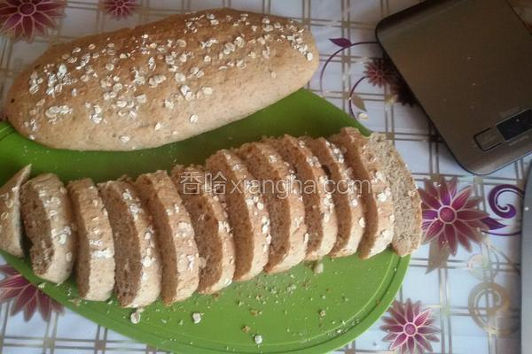 低糖全麦面包