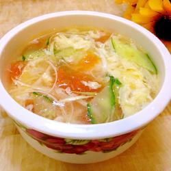西红柿蛋花汤的做法[图]
