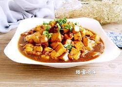 香菇肉沫烧豆腐