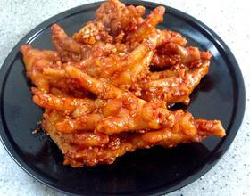 韩式吮指鸡爪