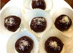 又大又软还会爆浆的全家欢甜品 巧克力糯米滋