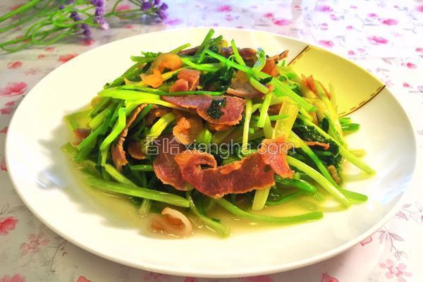 芹菜炒腊肉