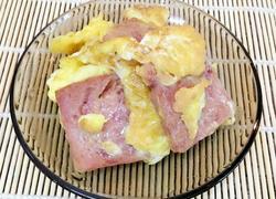 午餐肉煎鸡蛋