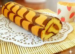 美人纹蛋糕卷