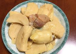 腊肉炖毛笋