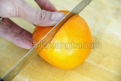 鲜榨蜜梨香橙汁的做法图解4