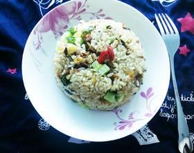 腊肠香菇糯米饭