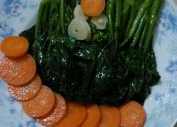 素炒芥兰菜