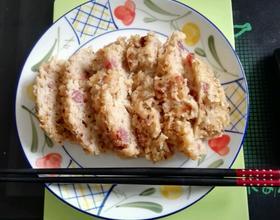 微波炉台式萝卜糕
