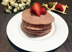 奶香草莓松饼
