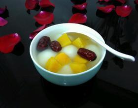 红薯红枣汤圆[图]