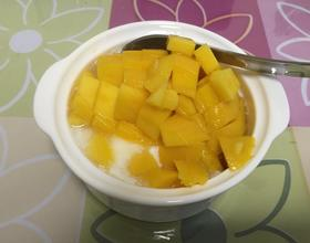 芒果酸奶[图]
