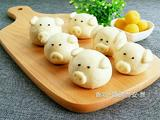小猪奶黄包的做法[图]