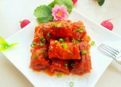 肉末茄汁油条