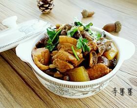 东北小鸡炖蘑菇[图]