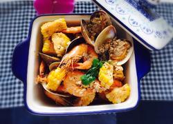 蒜蓉黄油海鲜