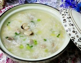 河蚬瘦肉砂锅粥