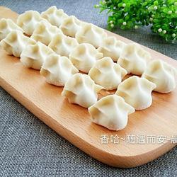 西葫芦鸡蛋水饺的做法[图]