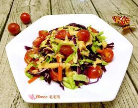 初春蔬菜沙拉[图]
