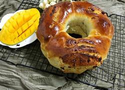 炼奶蔓越莓椰蓉面包