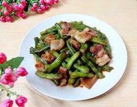 五花肉焖四季豆