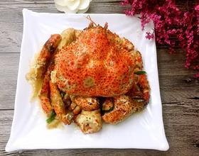 葱姜炒鳕蟹