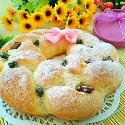 花环乳酪面包