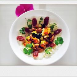 鸡肉蔬菜腊肠