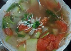 金针菇冬瓜番茄汤