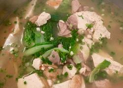 清汤白菜豆腐
