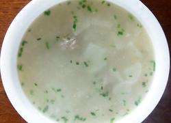 萝卜肉圆汤