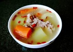 节瓜红萝卜猪筒骨汤