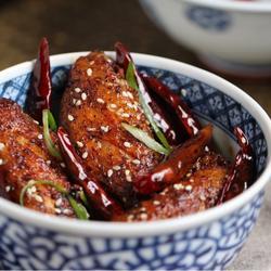 香酥麻辣鸡翅