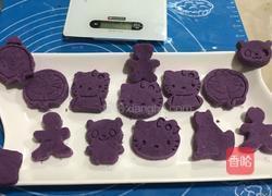 紫薯饼的做法图解6