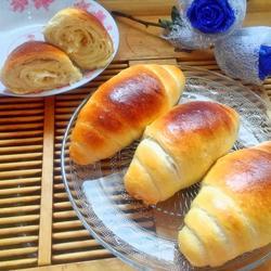 黄油面包卷