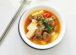 番茄豆腐牛肉