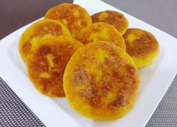 红薯糯米椰丝饼