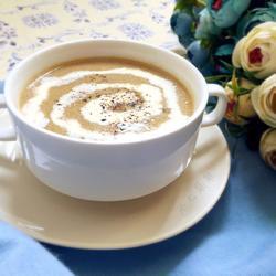 双孢菇奶油浓汤