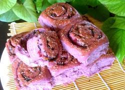 紫薯果干面包