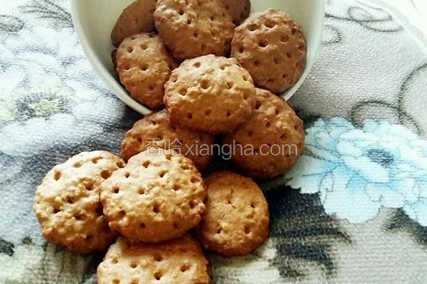 红糖燕麦酥饼