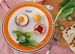 鸡蛋洋葱圈