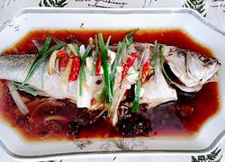 豆豉蒸鲈鱼